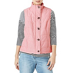 Dash - Coral padded gilet