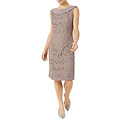 Jacques Vert - Petite lace cape dress