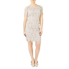 Jacques Vert - Petite leaf lace dress