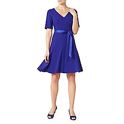 Jacques Vert - Crepe Fit And Flare Dress