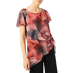Jacques Vert - Tie Sided Printed Blouse