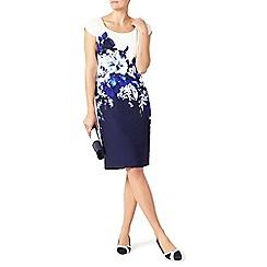 Jacques Vert - Crepe contrast print dress