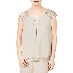 Jacques Vert - Lace back blouse