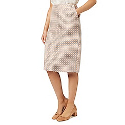 Eastex - Square stitch jacquard skirt