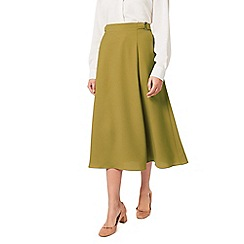 Eastex - Crepe detail wrap skirt