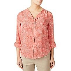 Eastex - Mini coral print blouse