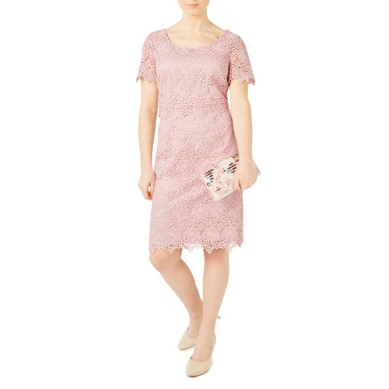 Jacques Vert Petite ditsy lace dress