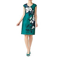Jacques Vert - Petite printed shantung dress
