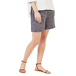 Dash - Textured linen shorts