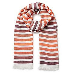 Eastex - Graduated stripe scarf