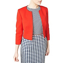 Precis - Samantha coral textured jacket