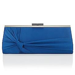 Jacques Vert - Dark blue knot clutch bag