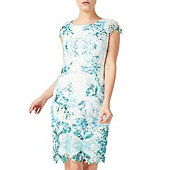 Jacques Vert - Petite printed lace dress