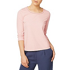 Eastex - Trim detail jersey top