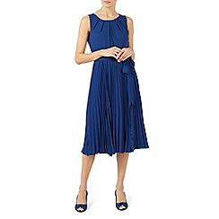 Jacques Vert - Spot lace insert dress