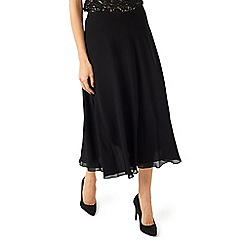 Jacques Vert - Black chiffon circle skirt