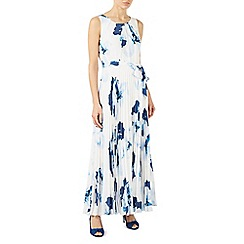 Jacques Vert - Print plise maxi dress