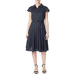 Precis - Petite demi navy shirt dress