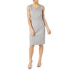 Jacques Vert - Petite jacquard dress