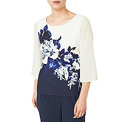 Jacques Vert - Multicoloured contrast print top