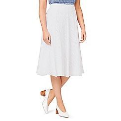 Eastex - Burnout A-line skirt