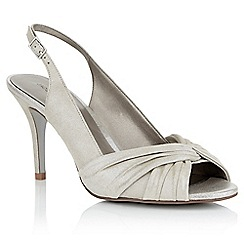 Jacques Vert - Metallic leather sandals