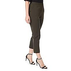 Precis - Petite twill crop trousers
