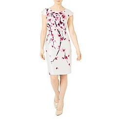 Jacques Vert - Petite blossom shantung dress
