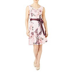 Jacques Vert - Petite floral burnout dress