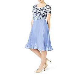 Jacques Vert - Petite floral plisse dress