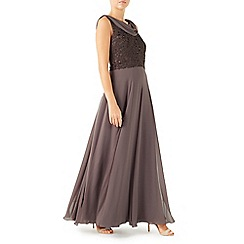 Jacques Vert - Sequin georgette maxi dress