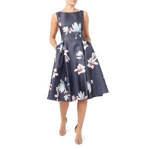Jacques Vert Printed structred prom dress