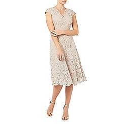 Jacques Vert - Lace godet dress