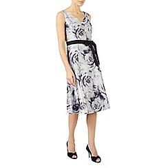 Jacques Vert - Rose print prom dress