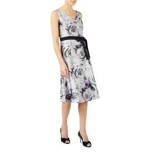 Jacques Vert Rose print prom dress