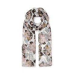 Eastex - Painted peony scarf