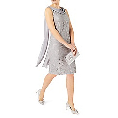 Jacques Vert - Lace drape cape dress