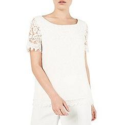 Jacques Vert - Petite lace blouse