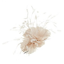 Jacques Vert - Beige trio flower hair clip