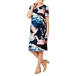Eastex - Sky reflection print dress