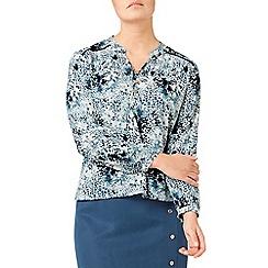 Eastex - Tessarae print blouse