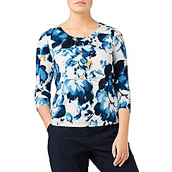 Eastex - Bali bloom print top