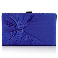 Jacques Vert - Mid blue petite riviera clutch bag