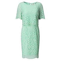 Jacques Vert - Wrap bodice cape dress