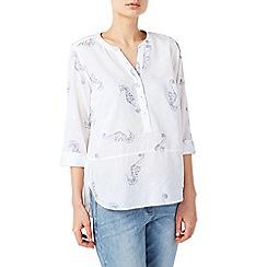 Dash - Seahorse linen blouse