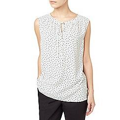 Precis - Petite hallie printed blouse