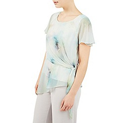 Jacques Vert - Printed soft tie top