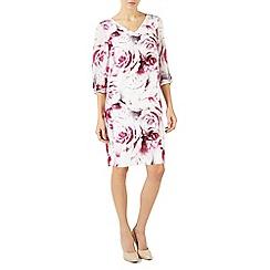 Jacques Vert - Multicoloured 'Rose Print' tunic dress