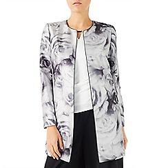 Jacques Vert - Rose print jacket