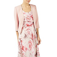 Jacques Vert - Pale pink edge to edge jacket
